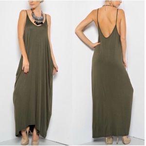 Harem Maxi Dress